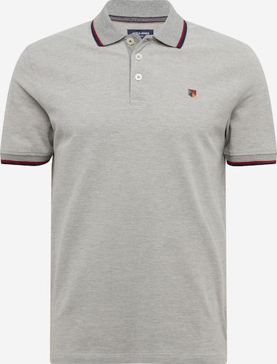 JACK & JONES Poloshirt in grau, Produktansicht
