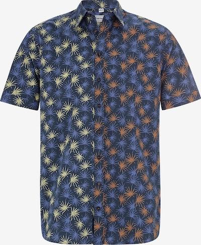 Shirtmaster Overhemd 'Escapefromwinter' in de kleur Donkerblauw / Gemengde kleuren, Productweergave