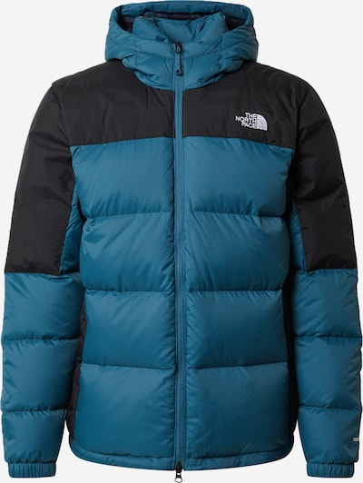 THE NORTH FACE Outdoor jacket 'Diablo' in sky blue / black / white, Item view