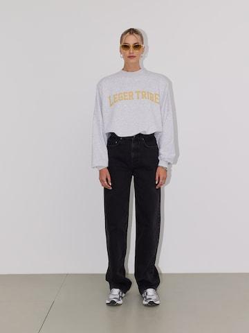 Grey Sweater Look by LeGer by Lena Gercke