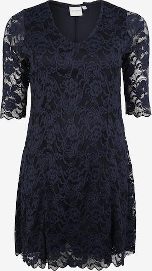 Junarose Sukienka koktajlowa 'JRNEWEMMA 3/4 SL ABOVE KNEE DRESS' w kolorze ciemny niebieskim, Podgląd produktu