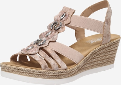 RIEKER Sandale in rosé, Produktansicht