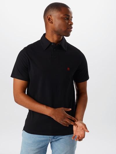 Degree T-Shirt en noir: Vue de face