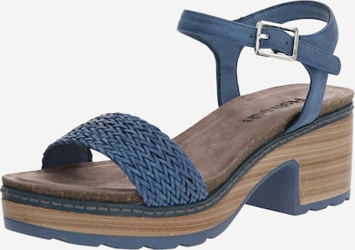 Sandale cu baretă Refresh pe denim albastru, Vizualizare produs