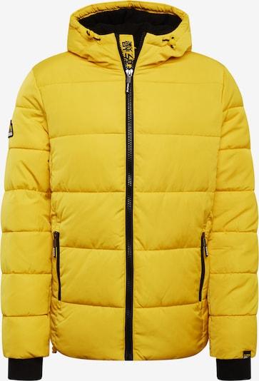 Geacă de iarnă Superdry pe galben, Vizualizare produs