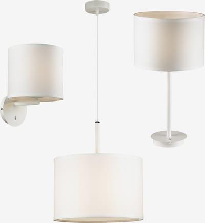 FAVOURITE Lampen-Set in perlweiß: Frontalansicht