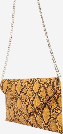 NYZE Tasche 'NYZE Clutch Snake' in gelb, Produktansicht