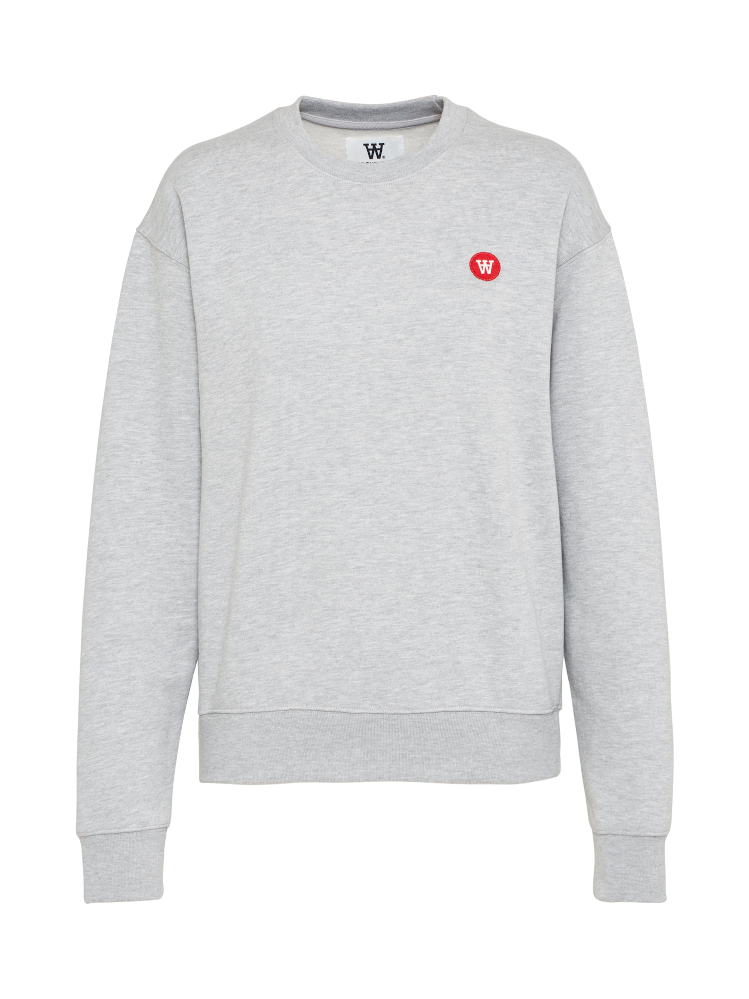 'jess' Wood Sweatshirt Sweatshirt Wood In Grau 'jess' c4ARj35Lq