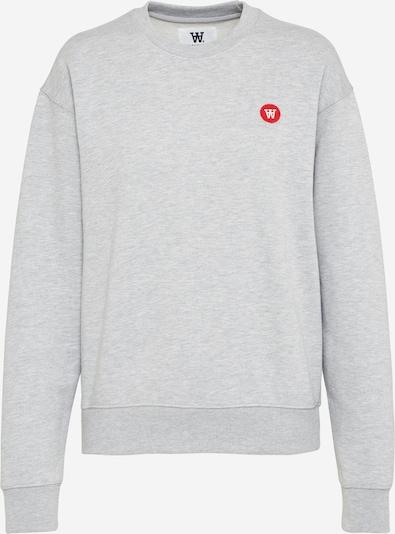 WOOD WOOD Sweatshirt 'Jess' in grau, Produktansicht