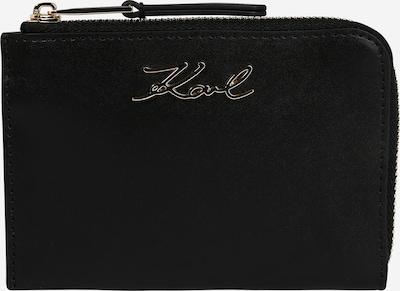 Karl Lagerfeld Etui in gold / schwarz, Produktansicht