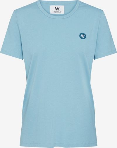 WOOD WOOD Shirt 'UMA' in de kleur Blauw, Productweergave