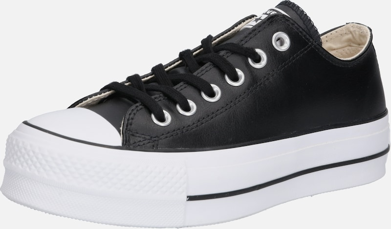 CONVERSE Baskets basses 'CHUCK TAYLOR ALL STAR LIFT CLEAN - OX' en noir, Vue avec produit
