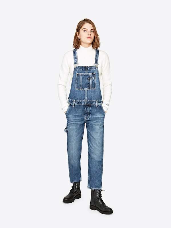 Pepe Jeans Overall 'DREW' Dua Lipa Collection in blue denim