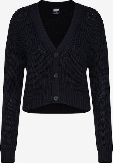 Urban Classics Cardigan en noir, Vue avec produit