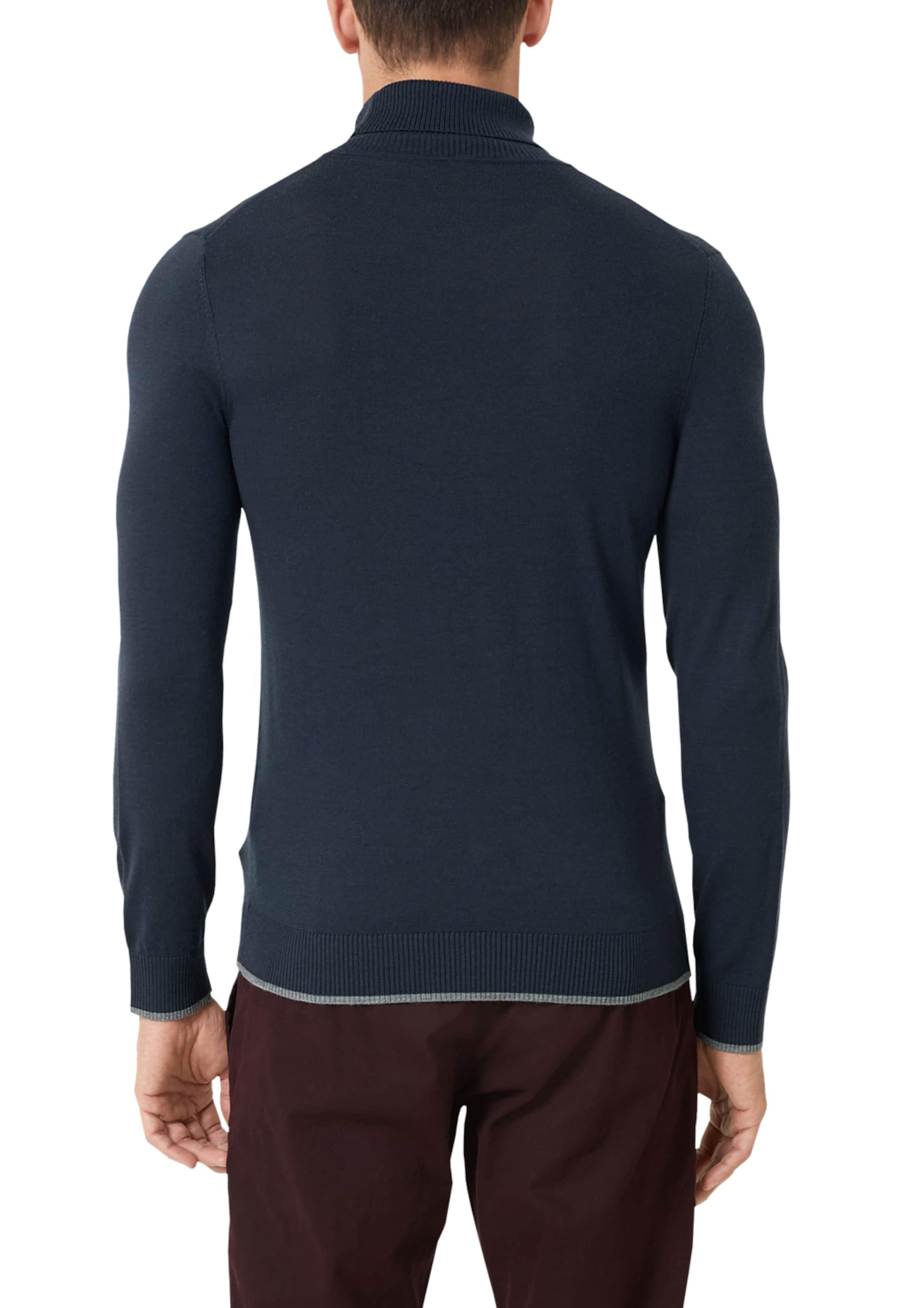 Label S Red Pullover oliver In NavyTaubenblau I9WYbeEHD2