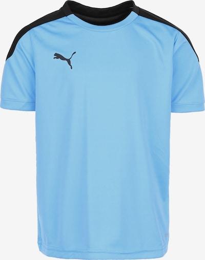 PUMA Trainingsshirt in hellblau / schwarz, Produktansicht