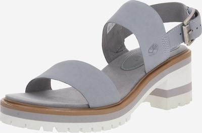 TIMBERLAND Sandalette 'Violet' in grau / weiß, Produktansicht