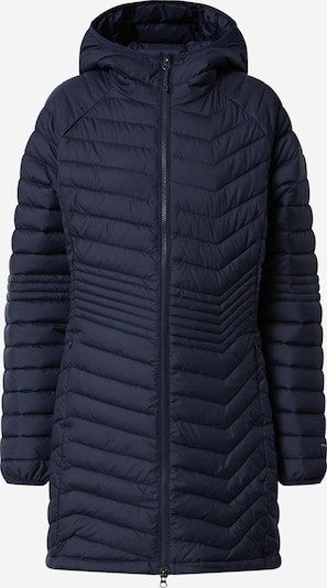 COLUMBIA Outdoorjas 'Powder Lite Mid' in de kleur Navy, Productweergave