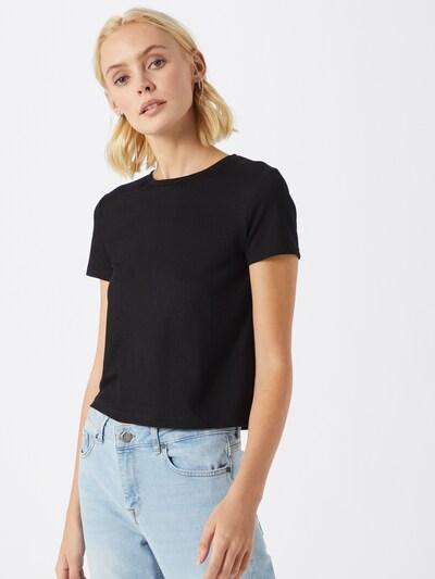Mavi Shirt in schwarz: Frontalansicht