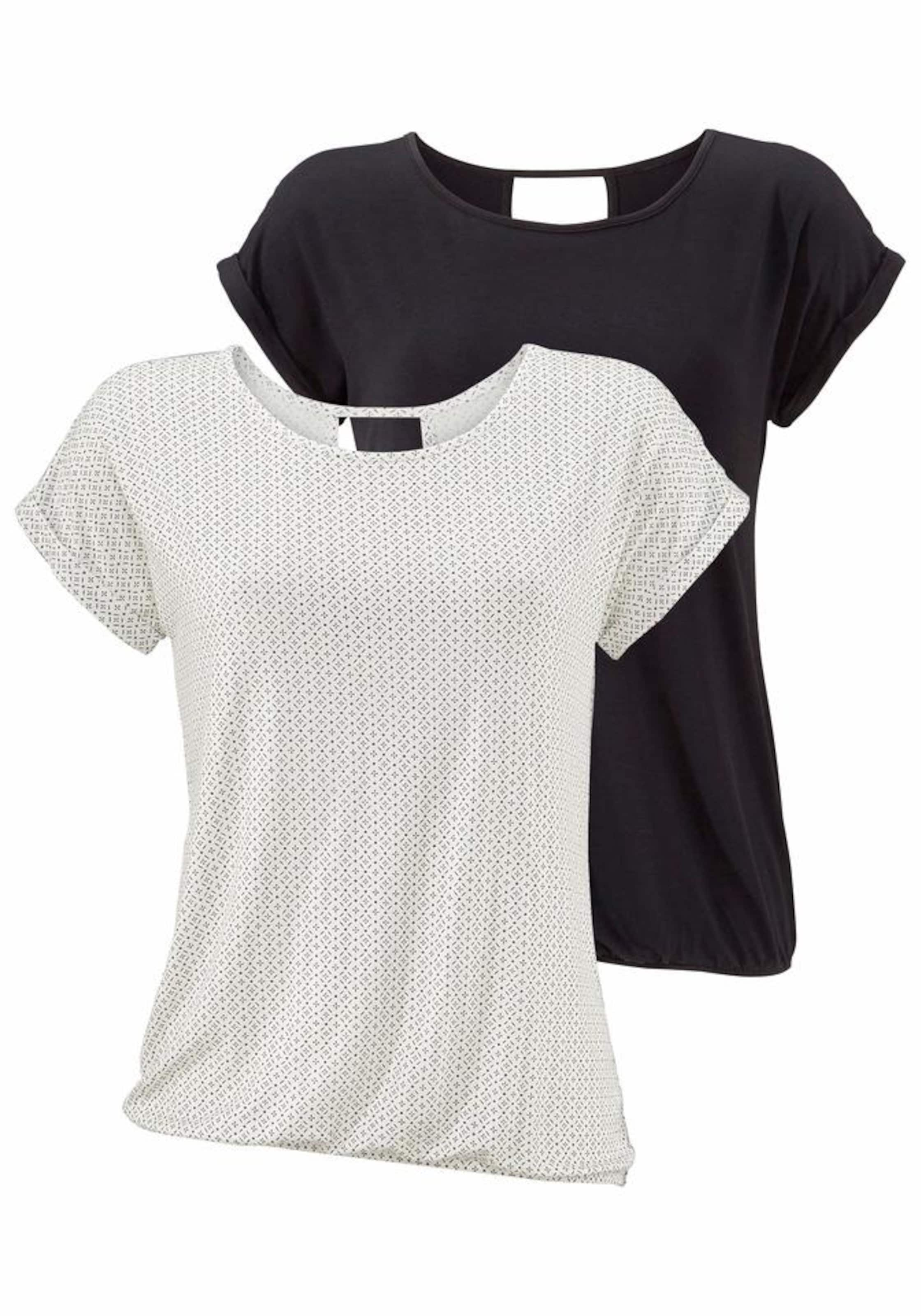 SchwarzOffwhite shirts Lascana Lascana T In T In shirts sCtohQxBrd