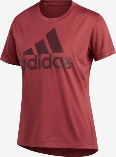 ADIDAS PERFORMANCE T-Shirt in dunkelrot, Produktansicht