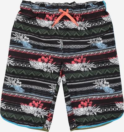 NAME IT Kratke kopalne hlače 'Zamans' | mešane barve / črna barva, Prikaz izdelka