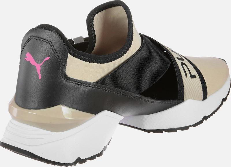 PUMA Sneaker Muse EOS asymmetrischem mit asymmetrischem EOS Klick-Verschluss d755d0