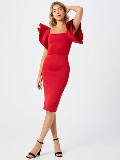 Boohoo Cocktailjurk in de kleur Rood, Modelweergave