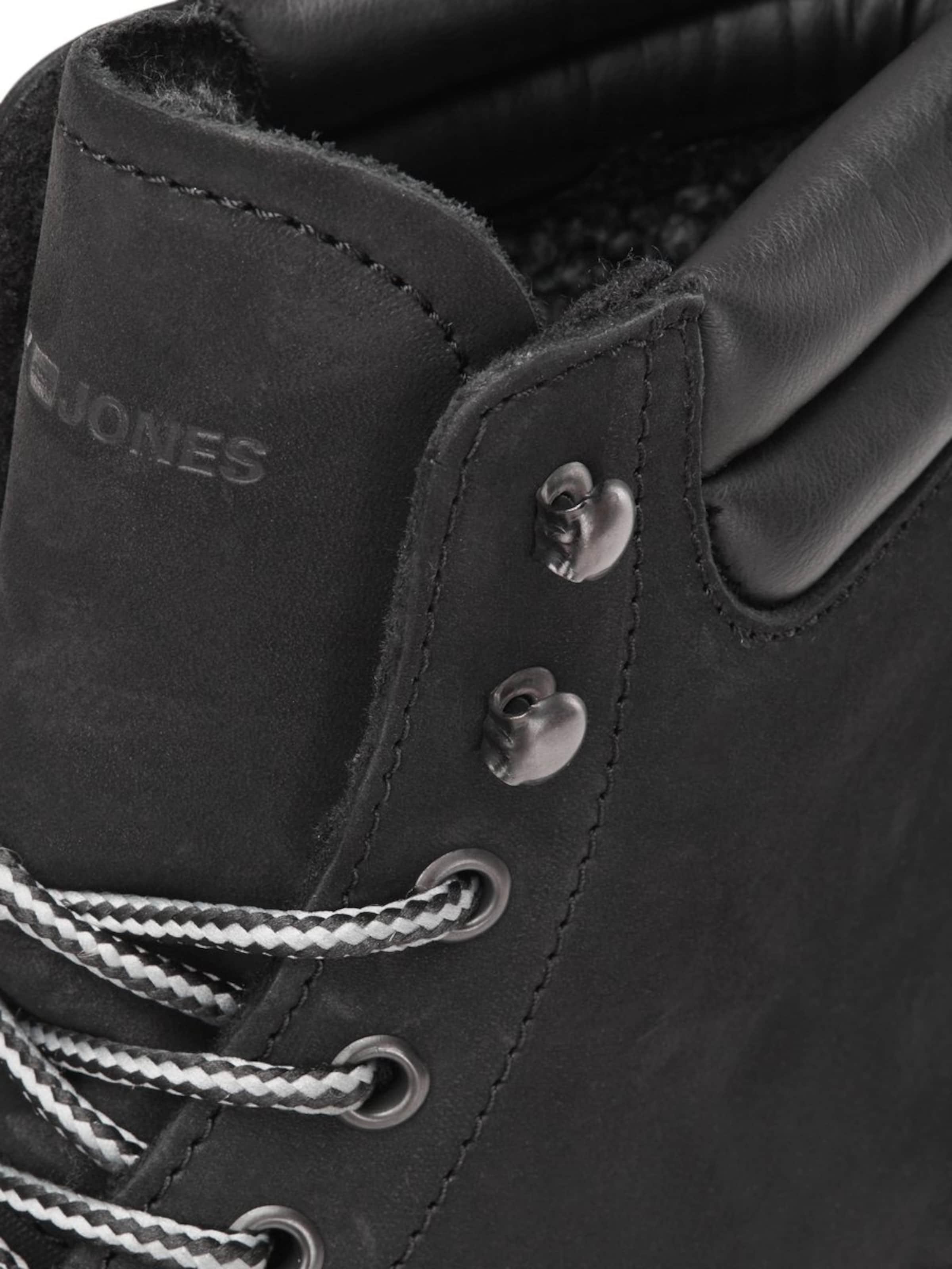 Jones Noir En Jackamp; Lacets Bottes À 35j4qcARL