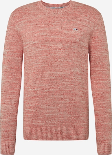 Tommy Jeans Pullover 'ESSENTIAL' in rot, Produktansicht
