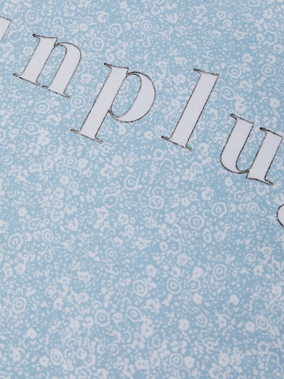 NAME IT Shirt in hellblau / weiß: Frontalansicht