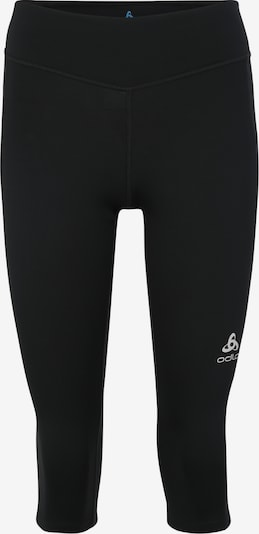 ODLO Sport-Tights 'SMOOTH  SOFT' in schwarz / weiß, Produktansicht