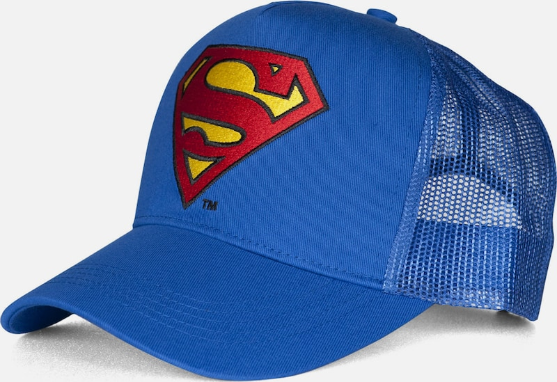 LOGOSHIRT Trucker Cap 'Superman �?Logo'