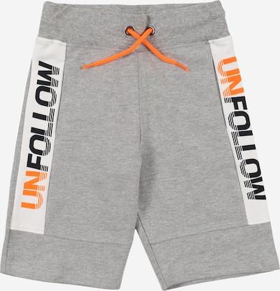 STACCATO Hlače | siva / oranžna / črna / bela barva, Prikaz izdelka