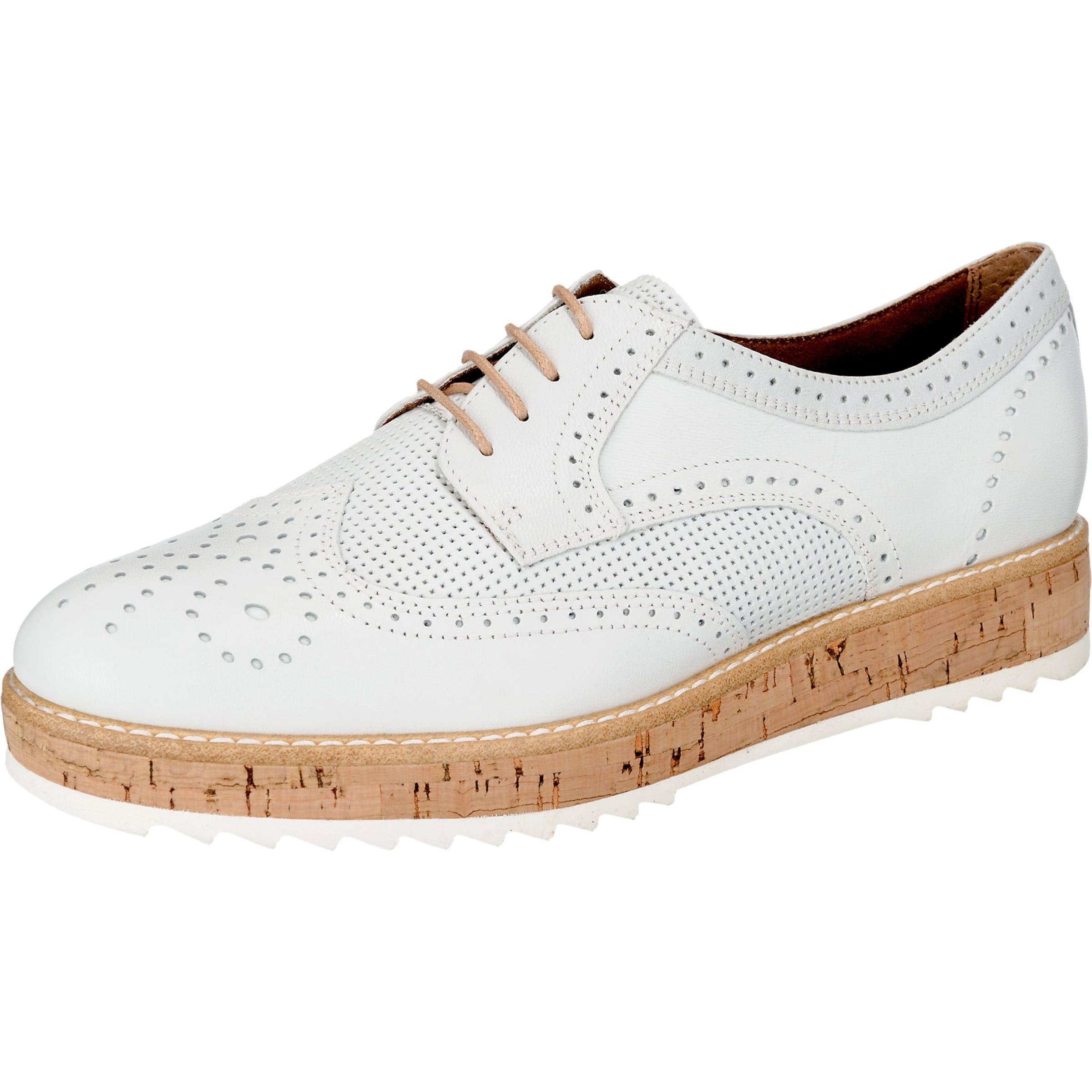 TAMARIS Plateau Schnürschuhe Verschleißfeste billige Schuhe