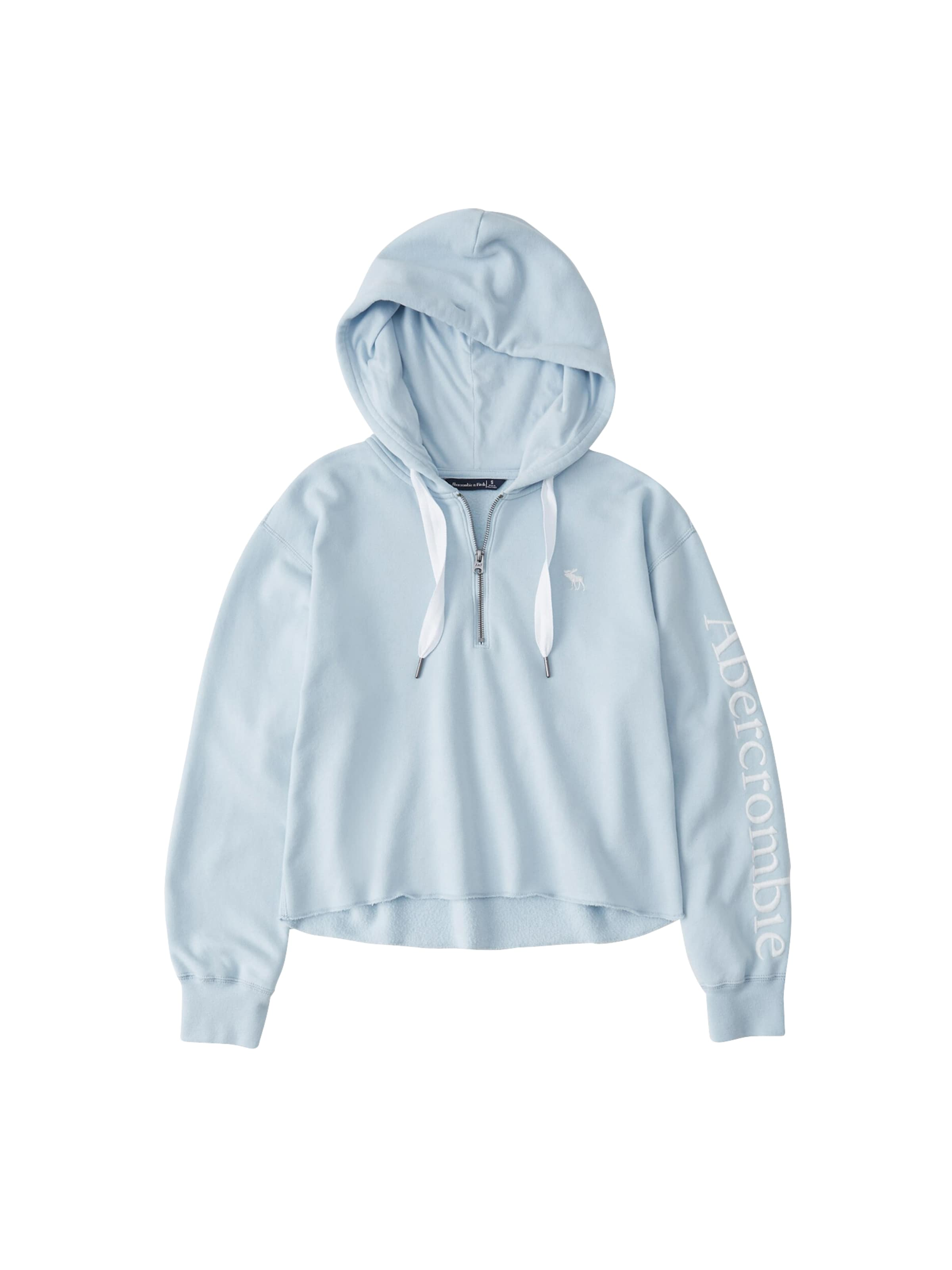 Sweat shirt Clair Fitch Abercrombieamp; Bleu En sQthCxordB