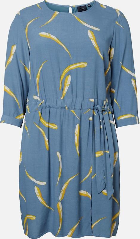 JunaRosa Kleid in rauchblau   gelb   weiß  Große Preissenkung