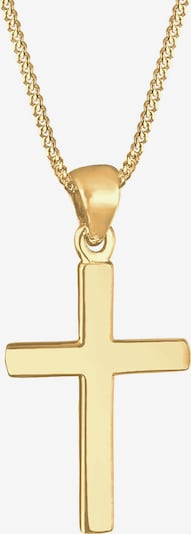 ELLI Halskette 'Kreuz' in gold, Produktansicht