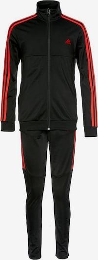 ADIDAS PERFORMANCE Trainingsanzug 'Tiro' in rot / schwarz, Produktansicht