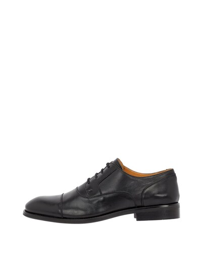 Bianco Buty sznurowane w kolorze czarnym, Podgląd produktu