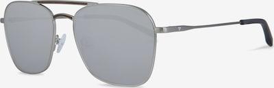 Kerbholz Sonnenbrille 'Bruno' in silber, Produktansicht