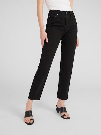 EDITED Jeans 'Aurelia' in de kleur Zwart, Modelweergave