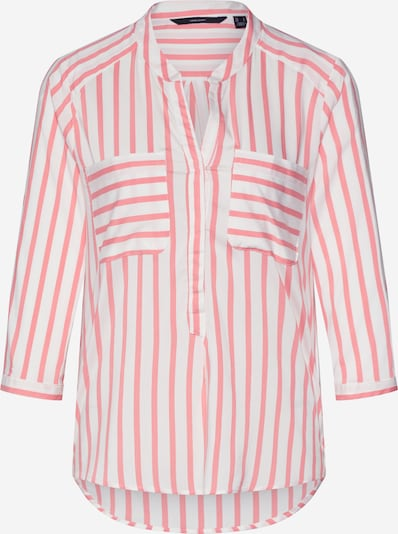 VERO MODA Bluse 'Erika' in rosa / weiß, Produktansicht