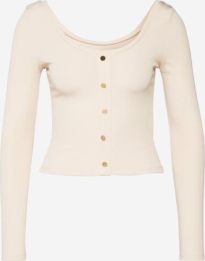 IVYREVEL Shirt 'SCOOP NECK RIB TOP' in beige, Produktansicht