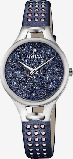 FESTINA Quarzuhr 'Mademoiselle, F20407/2' in dunkelblau / silber, Produktansicht