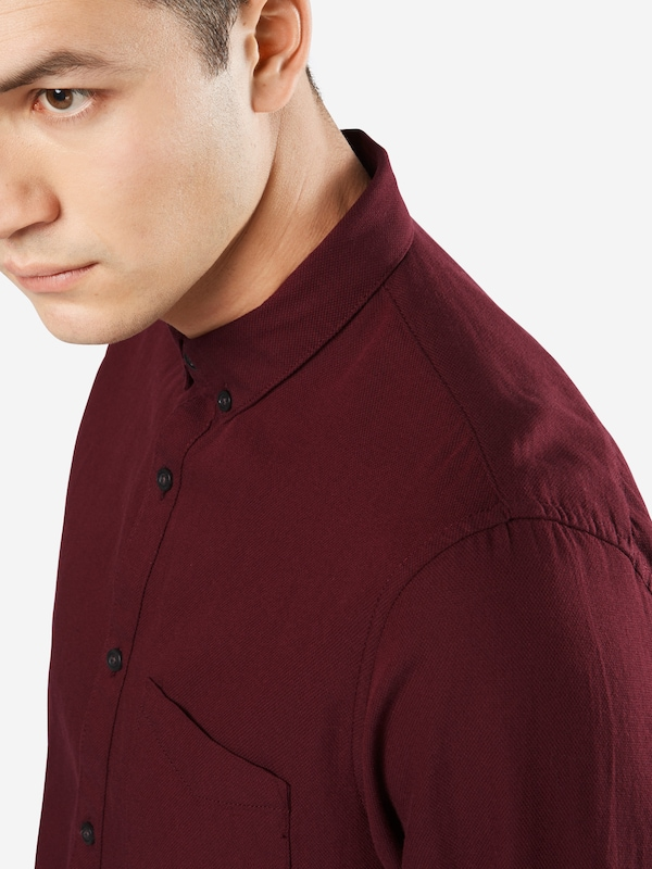 TOM TAILOR DENIM Hemd 'fitted picqué shirt'