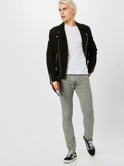 LEVI'S Jeans '519™' in grey denim: Frontalansicht