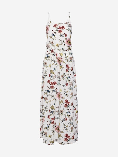 ONLY Poletna obleka | travnato zelena / staro roza / bela barva, Prikaz izdelka