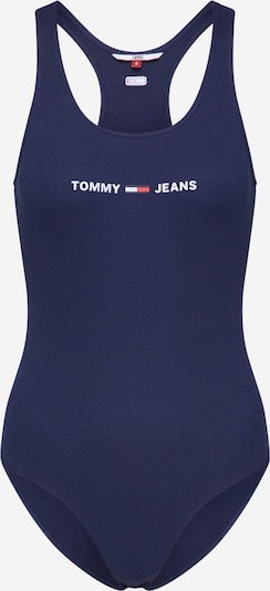 Tommy Jeans Body 'STRAP' in de kleur Navy / Rood / Wit, Productweergave