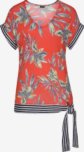 LASCANA Blusenshirt in mischfarben / rot, Produktansicht